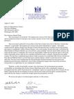 Legislator Letter to Attorney General Matt Denn