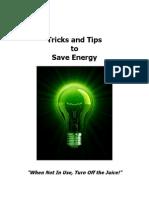 Bonus 2 - Tips & Tricks to Save Energy Malestrom