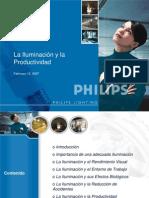 Iluminacion y Productividad PHILIPS PERUANA