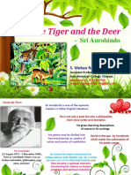 The Tiger and the Deer poem by Aurobindo