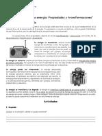Guía de Estudio 6 La Energía Propiedades y Transformaciones