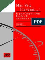Guia completa para Pruebas de Aislamiento Electrico.pdf