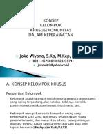 jokowi Konsep komunitas rentan (rawan)-komunitas kepla april 2018.ppt