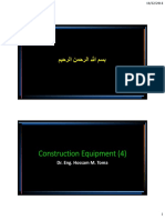 Equipment Lecture 4