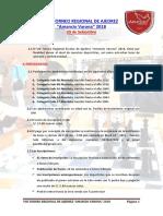 VIII Torneo Regional de Ajedrez Amancio Varona 2018