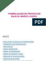 Marco Logico 2016