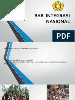 PPT Integrasi Nasional