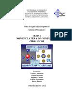 Tema 1. Guía Ejercicios Catedra QOI (1-2012)