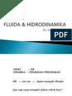 Fluida & Hidrodinamika