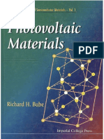 Photovoltaic Materials [Richard H. Bube]