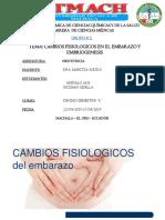 OBSTETRICIA GRUPO #2 CAMBIOS FISIOLOGICOS EN EL EMBARAZO Y EMBRIOGENESIS.pptx