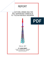 Final Tower Analysis Report Sst 65 m With Proposed Loading