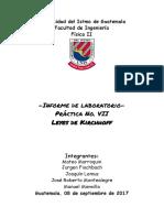 -Informe de laboratorio-Práctica No. VII Leyes de Kirchhoff-7