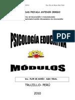 Modulo Psicologia educativa