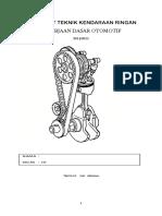 Job Sheet TKR PDTO