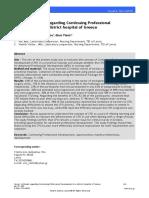 Nurses Attitudes Regarding Continuing Professional Development in a District Hospital of Greece