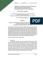 Jurnal-Analisis Ketersediaan Dan Kebutuhan Ruang Terbuka Hijau.pdf