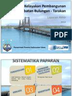Studi Kelayakan Pembangunan Jembatan Bulungan - Tarakan final.pdf