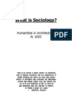 Lesson 1 on Sociology