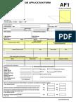 Application Form 2009 Onwards - Revised (Final)
