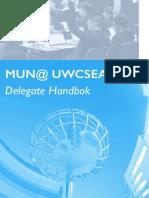 Delegate Handbook MUN@UWCSEA(Edited)