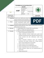SOP Koordinasi Antar Praktik Klinis (Rujukan Internal)