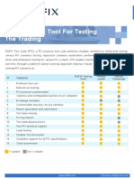 An Ultimate Solution For FIX Testing - PhiFIX Test Suite