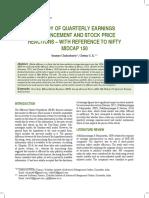 Soumya Chakraborty and DR. CGK Paper JCAR
