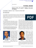 Review_Thermodynamics and kinetics of CO2, CO, and H+ binding to the metal centre of CO2reductioncatalysts - Chemical Society Reviews (RSC Publishing)_c1cs15278e
