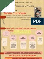 TEORÍAS CURRICULARES IMPORTANTES