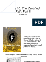 Comics and Graphic Novels in South Asia--Lecture 10--Vanished Path Part II