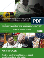 Digital Solutions by CABI Rwanda
