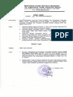 Surat Tugas Sosialisasi Dan Persiapan Akreditasi Sdmi 2018