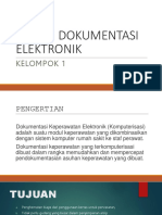 Sistem Dokumentasi Elektronik