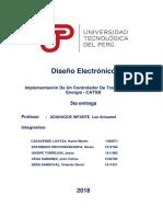 Diseño Electronico 2018-2-5ta Entrega