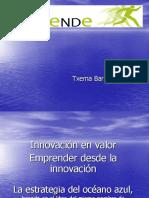 Innovación en ValorIII y Emprender Agil Em