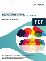 Total Reward and Employee Engagement Report