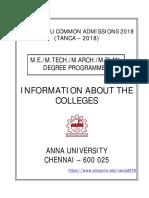 ME College Details TANCA_2018_Book