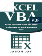 EXCEL VBA _ Guide Débutant Etape