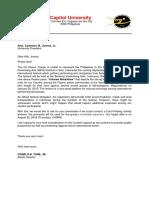 Fundraising Letter Revised