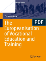 (Contributions to Political Science) Christine Ante (Auth.)-The Europeanisation of Vocational Education and Training-Springer International Publishing (2016)