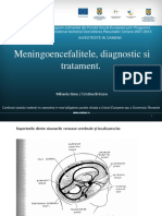41 Meningoencefalitele,Diagnostic Si Tratament