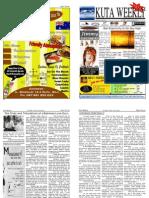 "Kuta Weekly-Edition 201 ""Bali""s Premier Weekly Newspaper"""