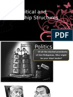 Political and Leadership Structures