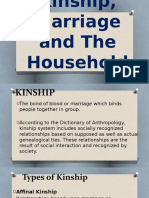 Kinship Marriage and the Household-161116105039