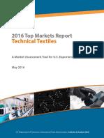 Textiles Top Markets Report