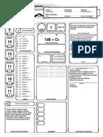 Emrys - D&D 5E - Ficha de Personagem
