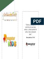 Projeto Envelope de Dízimo Das Crianças