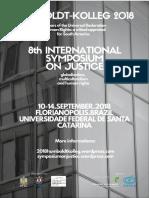 Cartazes - 8 Coloquio Internacional de Teoria Crítica em Guaranhuns
