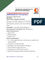 SMP - Maintenance of 7.2kV Bus Duct.pdf